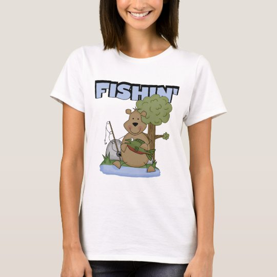 Fishin' Bear Tshirts and Gifts