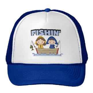 Fishin' Boat T-shirts and Gifts Hats