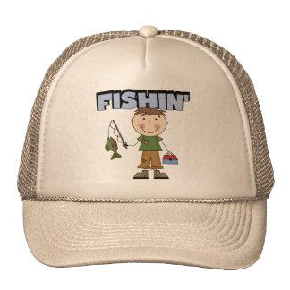 Fishin' Boy Tshirts and Gifts Mesh Hats
