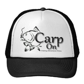 Fishing Adventures Wales Carp on Baseball Cap