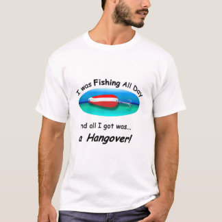 Fishing All Day Black Letter T-Shirt