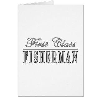 Fishing and Fishermen : First Class Fisherman Card