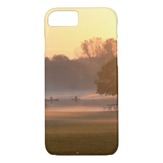 Fishing at Sunrise iPhone 8/7 Case
