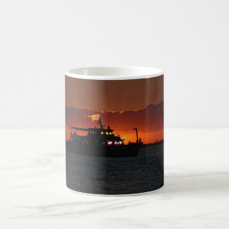 Fishing at Sunset Mug