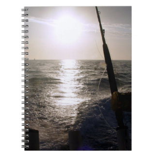 Fishing at Sunset Notebook