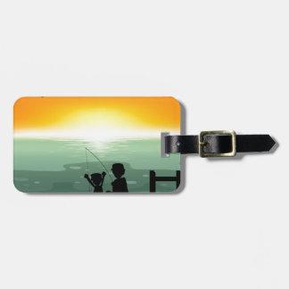 Fishing Bag Tag