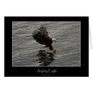 Fishing Bald Eagle Gift Set Card