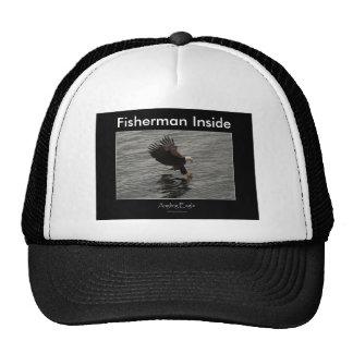 Fishing Bald Eagle Gift Set Mesh Hats