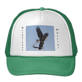 Fishing Bald Eagle Wilderness Warrior Hat