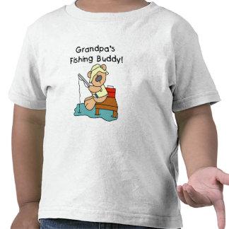 Fishing-Bear Grandpa s Fishing Buddy Tshirts