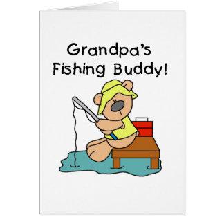 Fishing-Bear Grandpa s Fishing Buddy Tshirts Cards