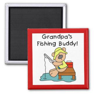 Fishing-Bear Grandpa s Fishing Buddy Tshirts Magnet