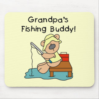 Fishing-Bear Grandpa s Fishing Buddy Tshirts Mousepad