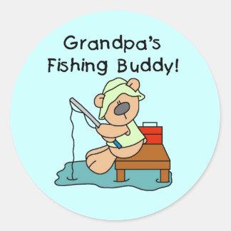 Fishing-Bear Grandpa s Fishing Buddy Tshirts Stickers