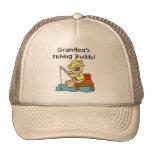 Fishing-Bear Grandpa's Fishing Buddy Tshirts Hat