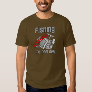 Fishing Bluegill The Reel Deal Serious Fishing T-shirt