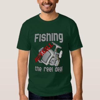 Fishing Bluegill The Reel Deal Serious Fishing T Shirt