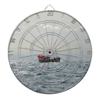 Fishing Boat Amanda Jane Dartboard