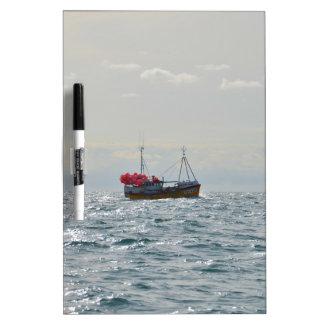 Fishing Boat Amanda Jane Dry Erase Board