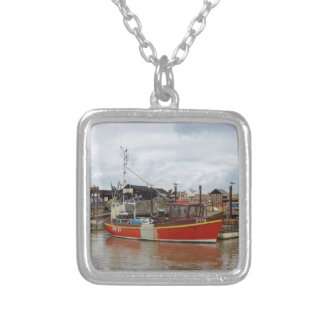 Fishing Boat Aquarius At Southwold Necklace