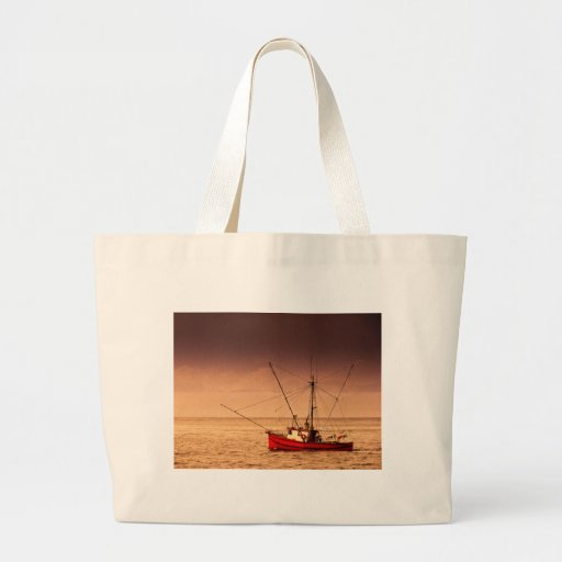 Fishing Boat Canvas Bags