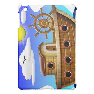 Fishing Boat Cartoon Cover For The iPad Mini