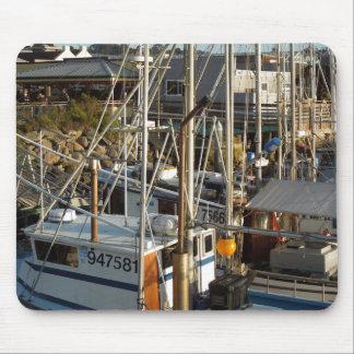 Fishing Boat Docked at Morro Bay, CA Mouse Pad