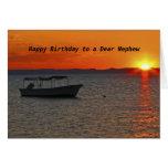 Fishing Boat  Happy Birthday to a Dear Nephew