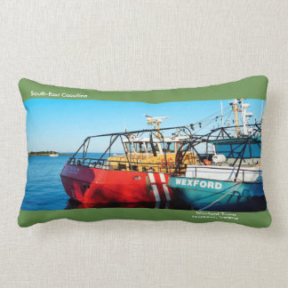 Fishing Boat image for Lumbar Pillow