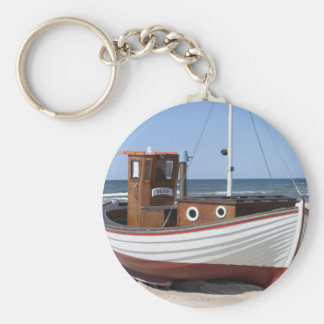 Fishing Boat Image Key Ring