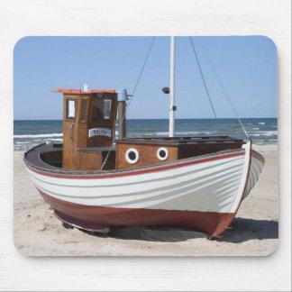 Fishing Boat Image Mouse Pad