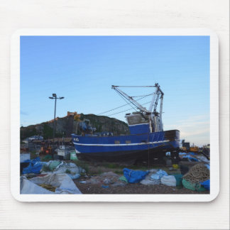 Fishing Boat Jack Henry Mouse Pads