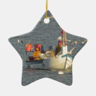 Fishing boat.JPG Christmas Ornament