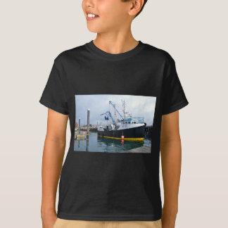 Fishing Boat Leaving Harbor T-Shirt