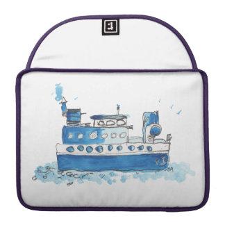 Fishing Boat MacBook Case Sleeves For MacBooks