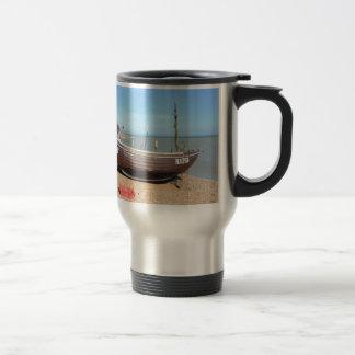 Fishing Boat Mona Lisa Coffee Mug