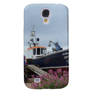 Fishing Boat Moss Rose HTC Vivid / Raider 4G Cover