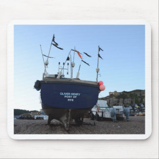 Fishing Boat Oliver Henry Mouse Pads