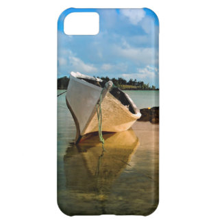 Fishing Boat On Mauritian Beach With Islet iPhone 5C Case