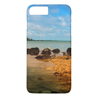 Fishing Boat On Mauritian Beach With Islet iPhone 8 Plus/7 Plus Case