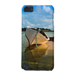 Fishing Boat On Mauritian Beach With Islet iPod Touch (5th Generation) Cases