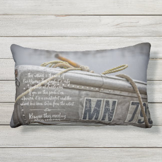Fishing Boat Pillow Father's Day Gift Yearous