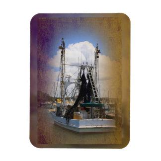 Fishing boat magnet