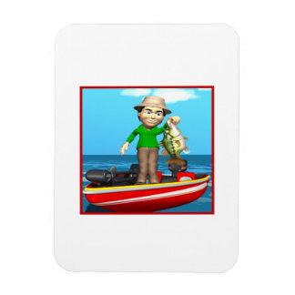 Fishing Boat Vinyl Magnet
