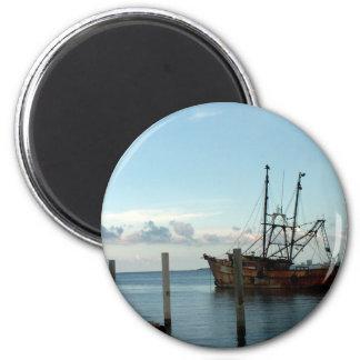 Fishing Boat Refrigerator Magnet