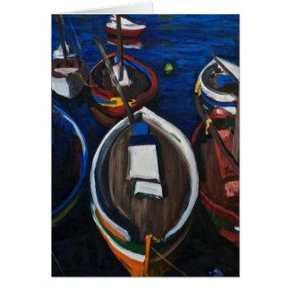 Fishing Boats at Sète Card