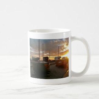 Fishing Boats At Sunset Coffee Mugs