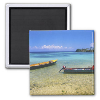 Fishing Boats, Boston Beach, Port Antonio, Magnet