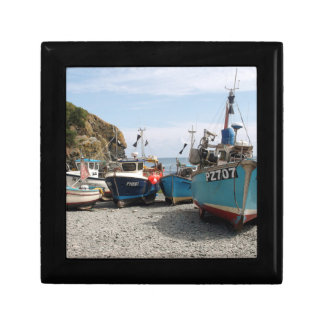Fishing Boats Cadgwith Cornwall England Gift Box