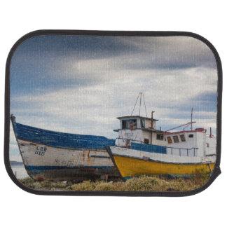 Fishing boats car mat
